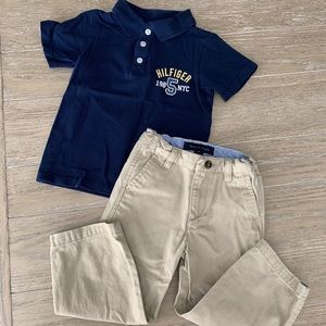 Boys 2 pc Tommy Hilfiger outfit